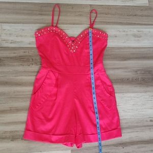 Poof Couture Dresses - NWT Poof Couture Studded Convertible Romper